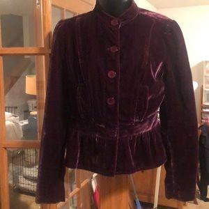 New York & Co velvet jacket
